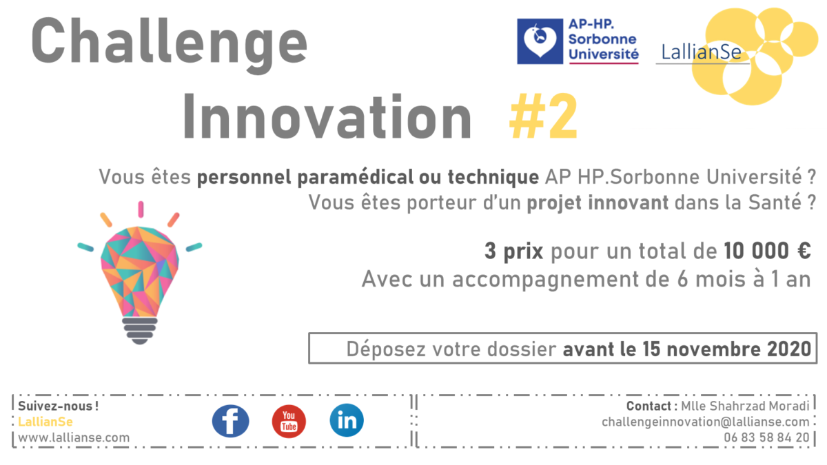 Lancement du Challenge Innovation #2