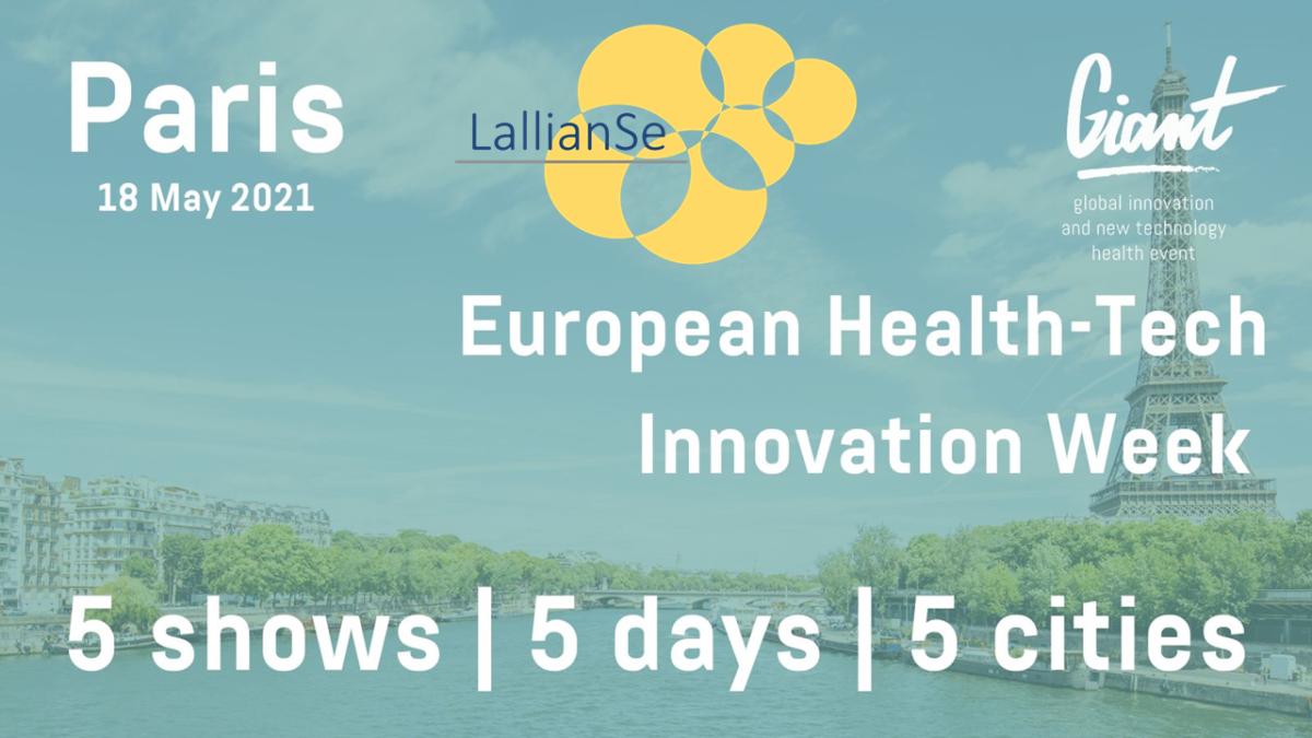 LallianSe x Giant European Health-Tech Innovation Week